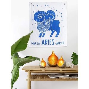 Urban Outfitters Aries Tapestry